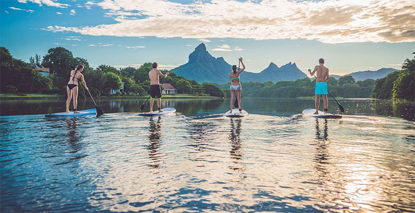 Stand Up Paddle in Mauritius